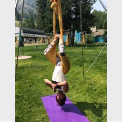 Defying Gravity in AIReal Yoga with Carmen Curtis
