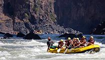 Raft the Zambezi River, Zambia