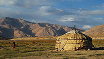 Live in a Yurt with a Nomad Family, Kazakhstan and Kyrgyzstan