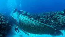 Deep Dive Shipwrecks, Bermuda Triangle